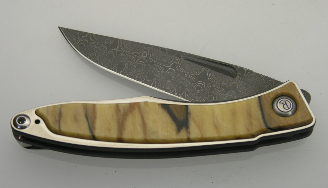 Chris Reeve Mnandi Salted Beech Amp Raindrop Damascus Knife